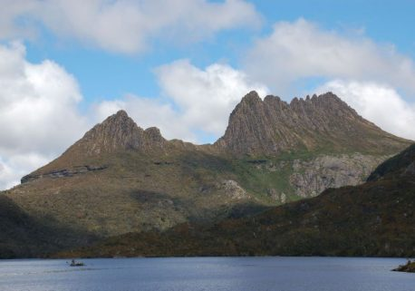 Cradle Mountain Blue Sky